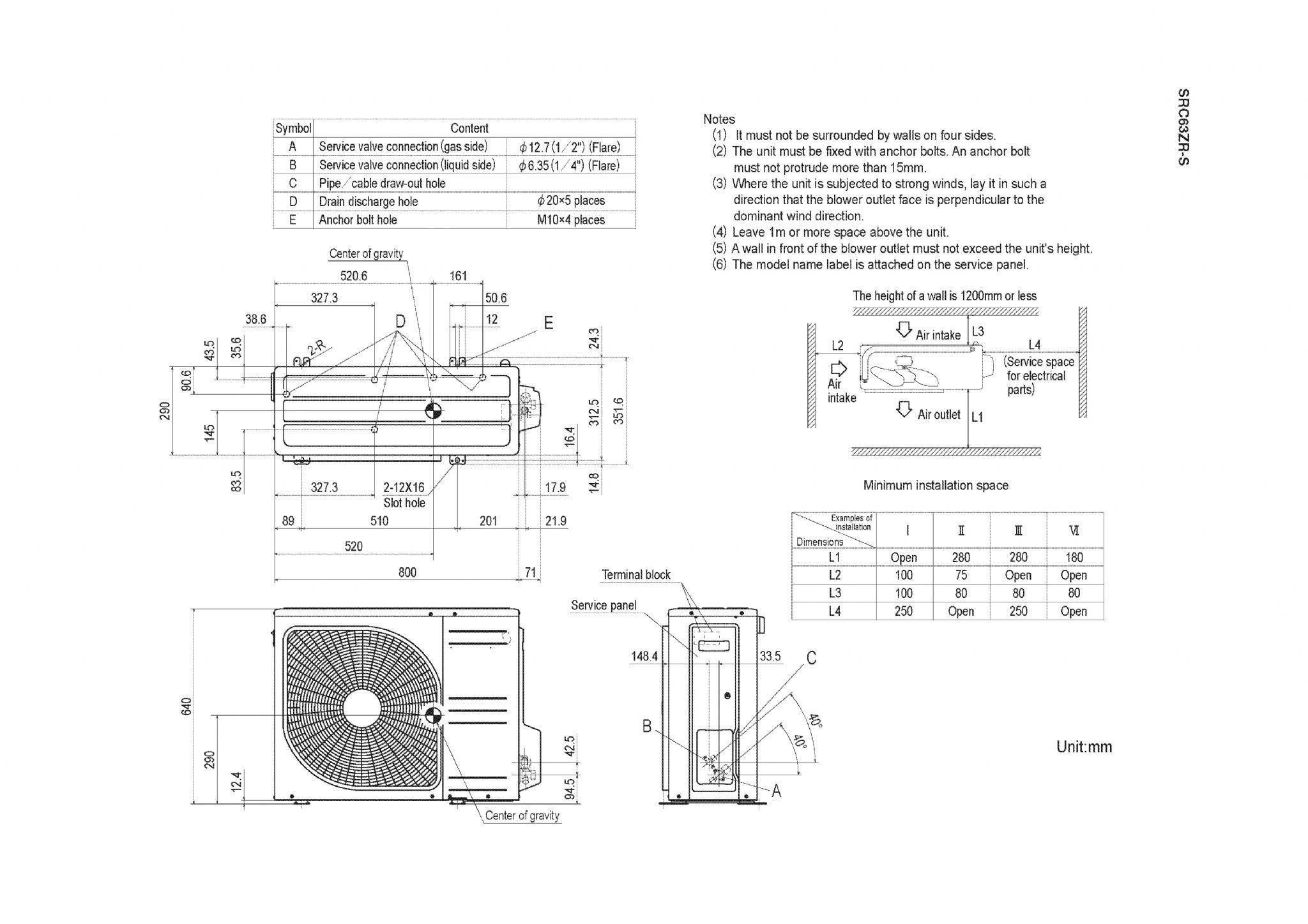 Mitsubishi Heavy Industries Wiring Diagram Diagrams 240v Air Conditioner Conditioning Srk63zr S Tractor D2000ii